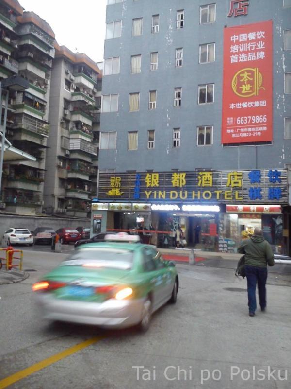 uliczne Kung Fu