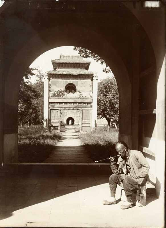 Entrance to the Tomb of Yung Lo, Peking (1907)