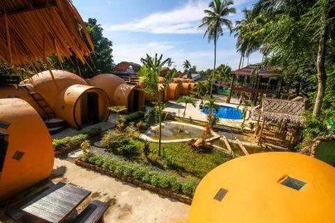 krabi life homestay viešbutis Krabi regione