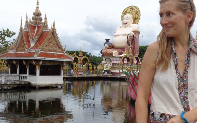 Gabija gyvenanti Tailande, Koh Samui saloje