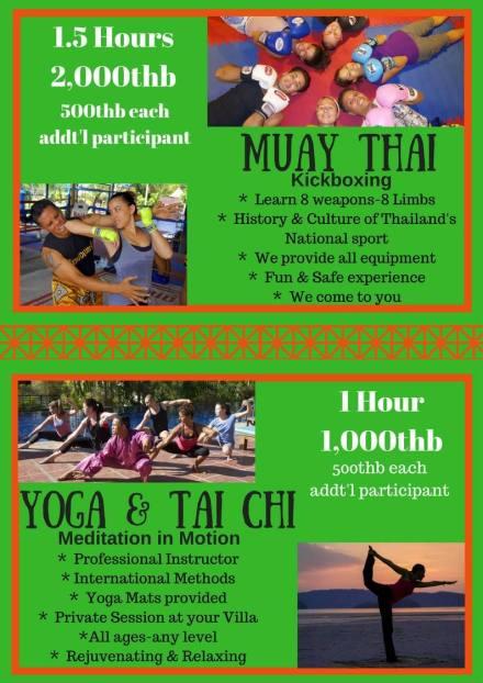 Muay Thai ir Tai Chi