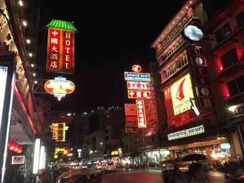 China Town (Kinų kvartalas) Bankoke