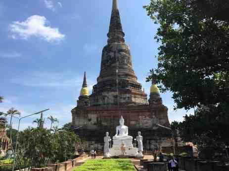 Ayutthaya - senoji Tailando sostinė