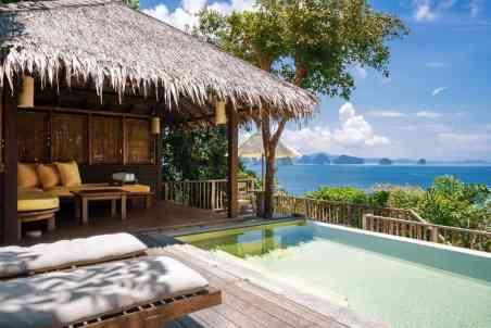 six senses viešbutis tarp Krabi ir Puketo salu