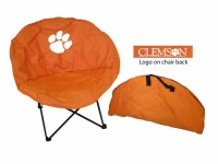 Clemson Tigers Round Chair - www.tailgatingfanatic.com