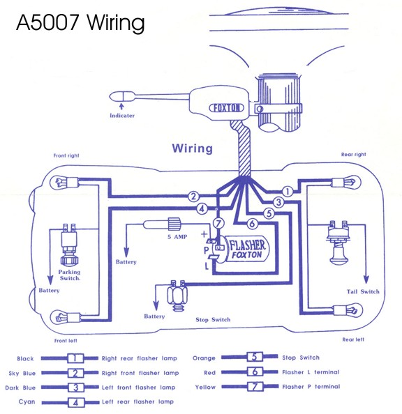 Grote Turn Signal Wiring Diagram 5 Pin Relay Wiring Diagram • Free