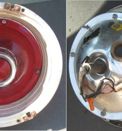 63fd 63 taillight assembly galaxie galaxie 500 xl 10 diameter good condition without trim rings have 3  [ 1463 x 729 Pixel ]