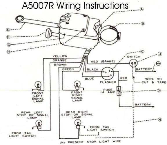 7 wire turn signal assembly diagram  pietrodavicoit power