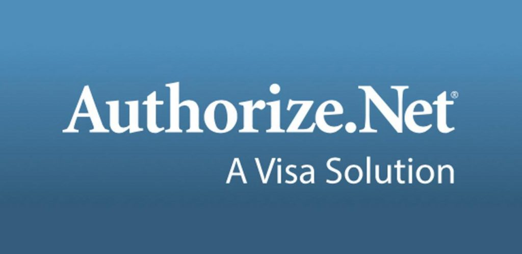 Partnership with authorize.net payment gateway service provider.