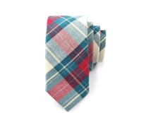 Red & Green Plaid Tie | Tailorist