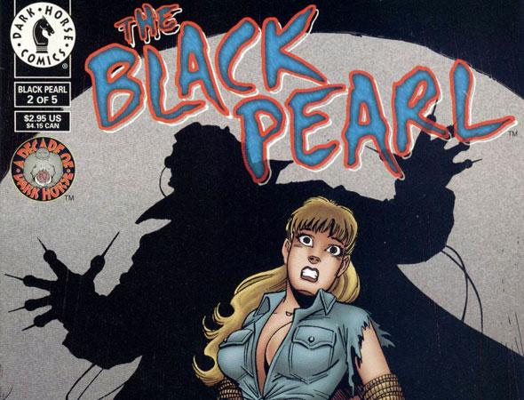 Comic book cover of Mark Hamill's 'The Black Pearl'