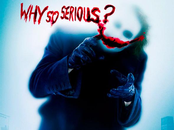 Heath Ledger as The Joker for 'The Dark Knight'
