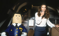 Julie Hagerty (right) co-stars in 'Airplane!'
