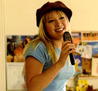 Hilary Duff takes her television series character to the big screen in 'The Lizzie McGuire Movie'