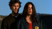 Grayson McCouch and Teri Hatcher in 'Momentum'