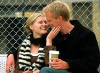 Kirsten Dunst and Paul Bettany in 'Wimbledon'