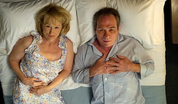Meryl Streep and Tommy Lee Jones in 'Hope Springs'