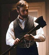 Benjamin Walker is 'Abraham Lincoln Vampire Hunter'