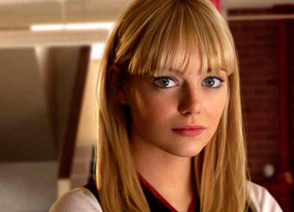Emma Stone is Gwen Stacy in 'The Amazing Spider-Man'