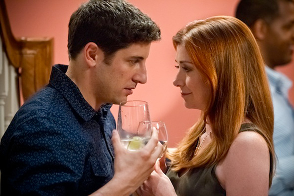 Jason Biggs and Alyson Hannigan in 'American Reunion'