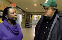 Michael Moore talks it up in 'Bowling for Columbine'