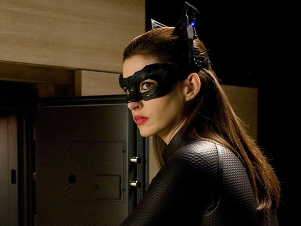 Anne Hathaway is Catwoman in 'The Dark Knight Rises'