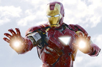 Robert Downey Jr. is Iron Man in 'The Avengers'