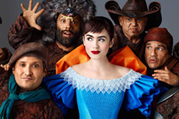 Lily Collins stars in 'Mirror, Mirror'