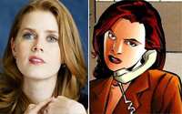 Amy Adams will play Lois Lane in latest Superman movie