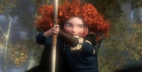 Merida from 'Brave'
