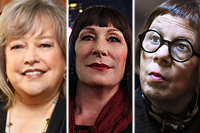 Kathy Bates, Angelica Huston and Linda Hunt are all Oscar-winning actresses who've made a career of being on TV
