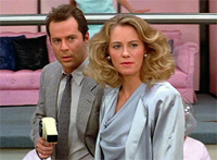 Bruce Willis and Cybil Shepard co-star on 'Moonlighting'