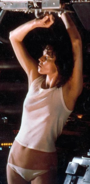 Sigourney Weaver is sexy and dangerous in 'Alien'
