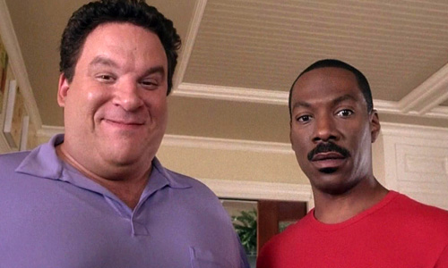 Jeff Garlin and Eddie Murphy in 'Daddy Day Care'