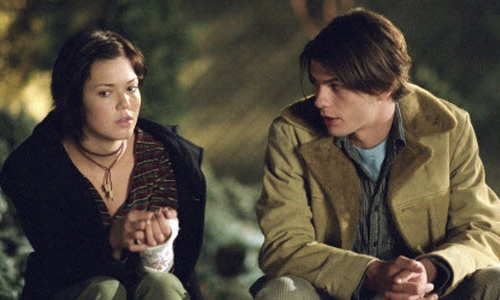 Mandy Moore and Trent Ford in 'How to Deal'