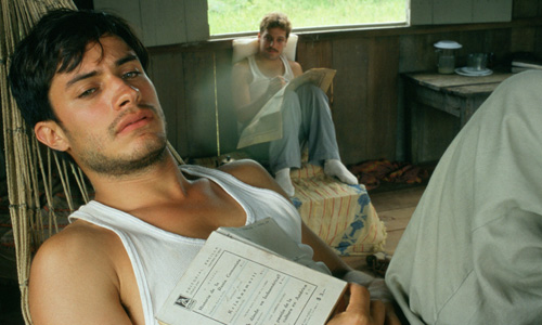 Gael García Bernal is Che Guevera in 'The Motorcycle Diaries'