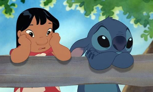 Lilo hangs with Stitch in 'Lilo & Stitch 2: Stitch has a Glitch'