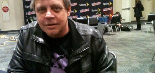 Mark Hamill, otherwise known as Luke Skywalker, at Comic Con in NYC