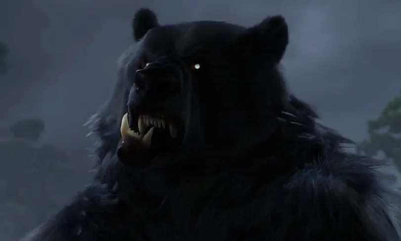 This is one grump old bear in 'Brave'