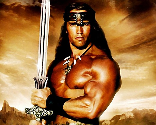 Arnold Schwarzenegger is the one, true 'Conan The Barbarian'