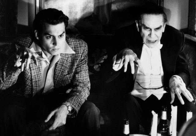 Johnny Depp and Martin Landau in 'Ed Wood'