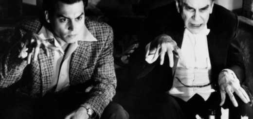 Johnny Depp and Martin Landau in 'Ed Wood'