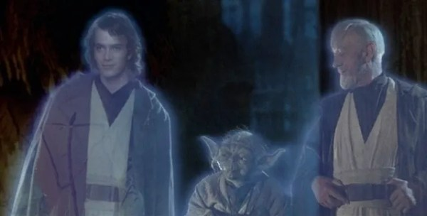 Hayden Christensen appears as Force ghost in special edition of 'Star Wars: Episode VI - Return of the Jedi'
