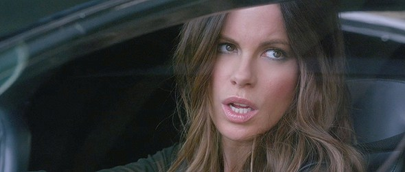 Kate Beckinsale is out to kill in