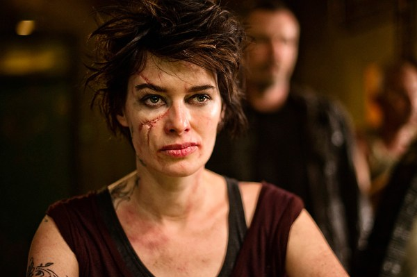 Lena Headey stars as Ma-Ma in 'Dredd 3D'