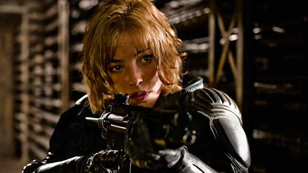 Olivia Thirlby stars as Anderson in 'Dredd 3D'