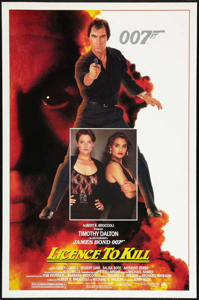 'License to Kill' movie poster