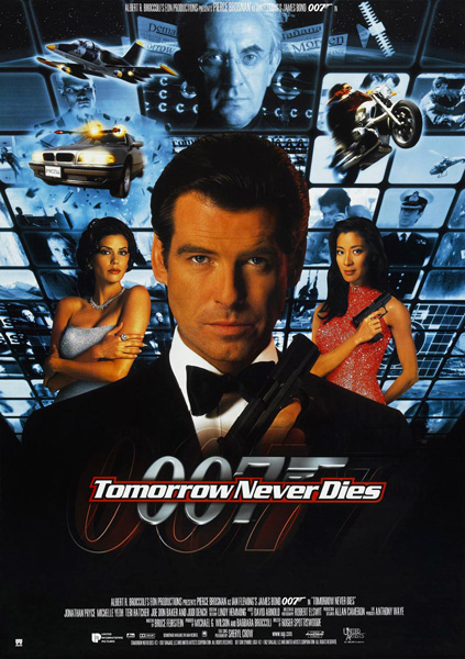 'Tomorrow Never Dies' movie poster