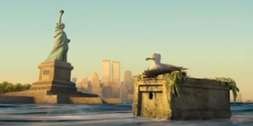 'Madagascar: Escape 2 Africa' offers up an computer animated view of the Twin Towers
