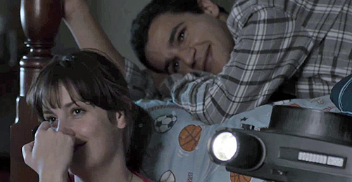 Christopher Abbott and Melanie Lynskey in 'Hello, I Must Be Going'